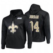 Wholesale Cheap New Orleans Saints #94 Cameron Jordan Nike NFL 100 Primary Logo Circuit Name & Number Pullover Hoodie Black