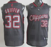 Wholesale Cheap Los Angeles Clippers #32 Blake Griffin Black Rhythm Fashion Jersey