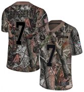 Wholesale Cheap Nike Colts #7 Jacoby Brissett Camo Youth Stitched NFL Limited Rush Realtree Jersey