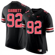 Wholesale Cheap Ohio State Buckeyes 92 Haskell Garrett Blackout College Football Jersey