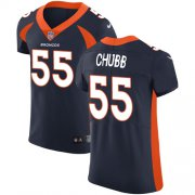 Wholesale Cheap Nike Broncos #55 Bradley Chubb Navy Blue Alternate Men's Stitched NFL Vapor Untouchable Elite Jersey