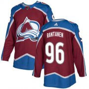 Wholesale Cheap Adidas Avalanche #96 Mikko Rantanen Burgundy Home Authentic Stitched NHL Jersey
