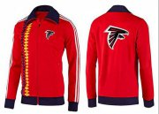 Wholesale Cheap NFL Atlanta Falcons Team Logo Jacket Red_2