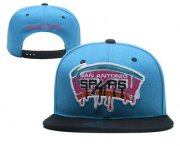 Wholesale Cheap San Antonio Spurs Snapback Ajustable Cap Hat YD 2