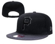 Wholesale Cheap MLB Pittsburgh Pirates Snapback Ajustable Cap Hat 3