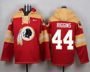 Wholesale Cheap Nike Redskins #44 John Riggins Burgundy Red Player Pullover NFL Hoodie