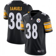 Wholesale Cheap Nike Steelers #38 Jaylen Samuels Black Team Color Men's Stitched NFL Vapor Untouchable Limited Jersey