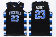 Wholesale Cheap One Three Hill 23 Scott Black Stitched Jersey
