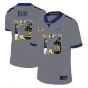 Wholesale Cheap West Virginia Mountaineers 13 Andrew Buie Gray Fashion College Football Jersey