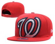 Wholesale Cheap MLB Washington Nationals Snapback Ajustable Cap Hat 2
