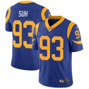 Wholesale Cheap Nike Rams #93 Ndamukong Suh Royal Blue Alternate Youth Stitched NFL Vapor Untouchable Limited Jersey