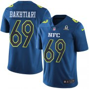 Wholesale Cheap Nike Packers #69 David Bakhtiari Navy Youth Stitched NFL Limited NFC 2017 Pro Bowl Jersey