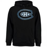Wholesale Cheap Montreal Canadiens Rinkside Pond Hockey Pullover Hoodie Black