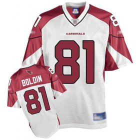 Wholesale Cheap Cardinals #81 Anquan Boldin White Stitched Jersey