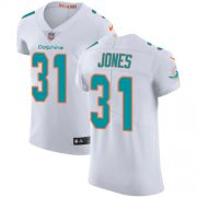 Wholesale Cheap Nike Dolphins #31 Byron Jones White Men's Stitched NFL New Elite Jersey