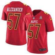 Wholesale Cheap Nike Bills #57 Lorenzo Alexander Red Men's Stitched NFL Limited AFC 2017 Pro Bowl Jersey