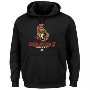 Wholesale Cheap Ottawa Senators Majestic Critical Victory VIII Fleece Hoodie Black