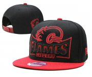 Wholesale Cheap NHL Calgary Flames hats 1