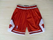 Wholesale Cheap Chicago Bulls Red Nike Mesh NBA Shorts