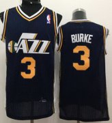 Wholesale Cheap Utah Jazz #3 Trey Burke Navy Blue Swingman Jersey