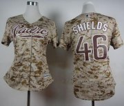 Wholesale Cheap Padres #46 Craig Kimbrel Camo Alternate 2 Women's Stitched MLB Jersey
