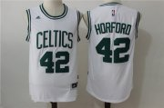 Wholesale Cheap Men's Boston Celtics #42 Al Horford White Revolution 30 Swingman Stitched Basketball Jersey