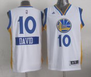 Wholesale Cheap Golden State Warriors #10 David Lee Revolution 30 Swingman 2014 Christmas Day White Jersey