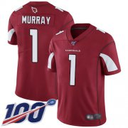 Wholesale Cheap Nike Cardinals #1 Kyler Murray Red Team Color Men's Stitched NFL 100th Season Vapor Limited Jersey