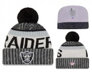 Wholesale Cheap NFL Oakland Raiders Logo Stitched Knit Beanies 013
