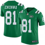 Wholesale Cheap Nike Jets #81 Quincy Enunwa Green Men's Stitched NFL Limited Rush Jersey