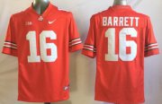 Wholesale Cheap Ohio State Buckeyes #16 J.T. Barrett 2014 Red Limited Jersey
