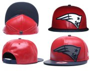 Wholesale Cheap NFL New England Patriots Team Logo Red Reflective Adjustable Hat G106