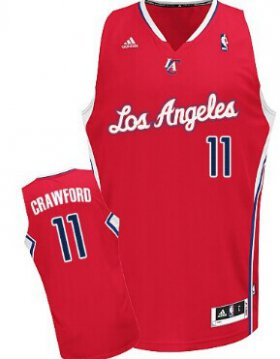 Wholesale Cheap Los Angeles Clippers #11 Jamal Crawford Red Swingman Jersey
