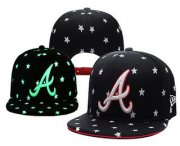 Wholesale Cheap MLB Atlanta Braves Snapback Ajustable Cap Hat YD 4