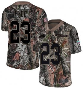 Wholesale Cheap Nike Bills #23 Micah Hyde Camo Youth Stitched NFL Limited Rush Realtree Jersey
