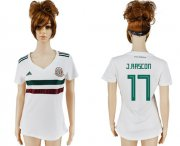 Wholesale Cheap Women's Mexico #17 J.Rascon Away Soccer Country Jersey