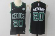 Wholesale Cheap Nike Boston Celtics #20 Gordon Hayward Black Jersey