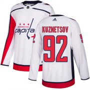 Wholesale Cheap Adidas Capitals #92 Evgeny Kuznetsov White Road Authentic Stitched Youth NHL Jersey