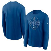 Wholesale Cheap Indianapolis Colts Nike Icon Legend Performance Long Sleeve T-Shirt Royal