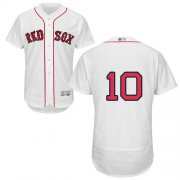 Wholesale Cheap Red Sox #10 David Price White Flexbase Authentic Collection Stitched MLB Jersey