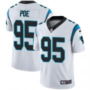 Wholesale Cheap Nike Panthers #95 Dontari Poe White Youth Stitched NFL Vapor Untouchable Limited Jersey