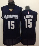 Wholesale Cheap Memphis Grizzlies #15 Vince Carter Navy Blue Swingman Jersey
