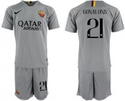 Wholesale Cheap Roma #21 Gonalons Away Soccer Club Jersey