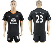 Wholesale Cheap Everton #23 Coleman Away Soccer Club Jersey