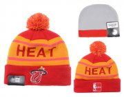 Wholesale Cheap Miami Heat Beanies YD005