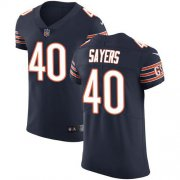 Wholesale Cheap Nike Bears #40 Gale Sayers Navy Blue Team Color Men's Stitched NFL Vapor Untouchable Elite Jersey