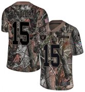 Wholesale Cheap Nike Raiders #15 Nelson Agholor Camo Men's Stitched NFL Limited Rush Realtree Jersey