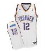 Wholesale Cheap Oklahoma City Thunder #12 Steven Adams White Swingman Jersey