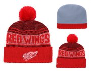 Wholesale Cheap NHL DETROID RED WINGS Beanies