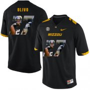 Wholesale Cheap Missouri Tigers 27 Brock Olivo Black Nike Fashion College Football Jersey